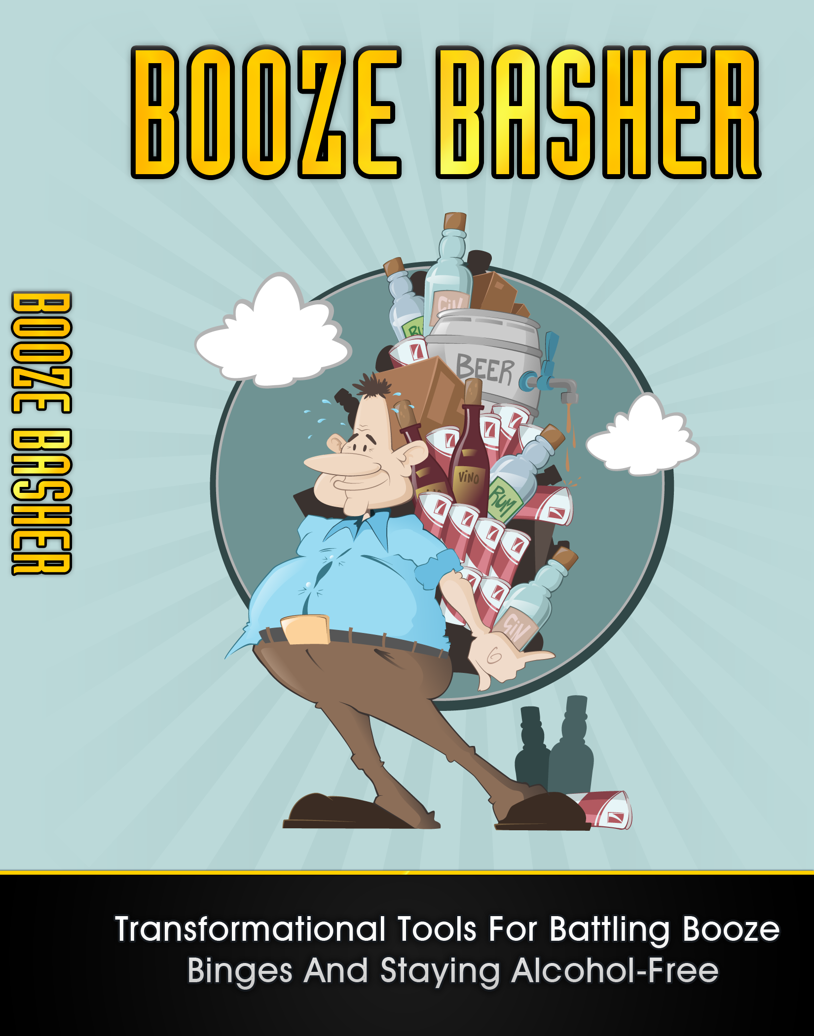 Thumbnail Booze Basher: Stop The Battle With Alcohol (PLR)