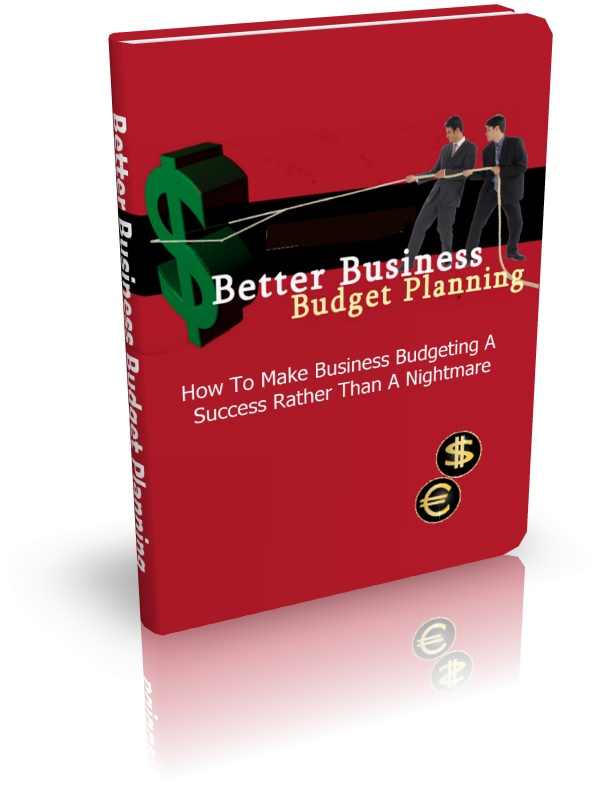 Thumbnail Better Business Budget Planning - eBook with MRR