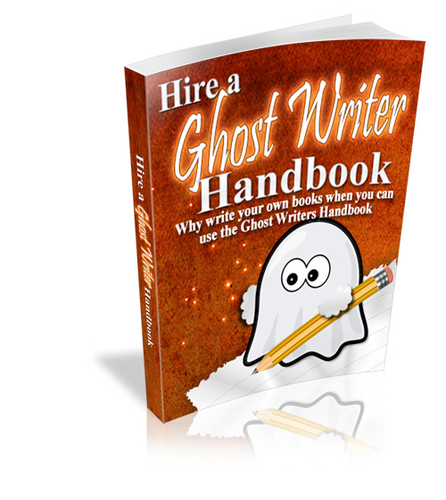 Thumbnail Hire A Ghost Writer Handbook with MRR/Giveaway