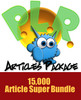 Thumbnail 15,000 PLR Article Monster Pack!