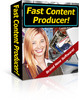 Thumbnail *NEW* Fast Content Producer PLR - create content easy way