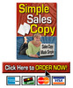 Thumbnail Simple Sales Copy software - PLR, MRR