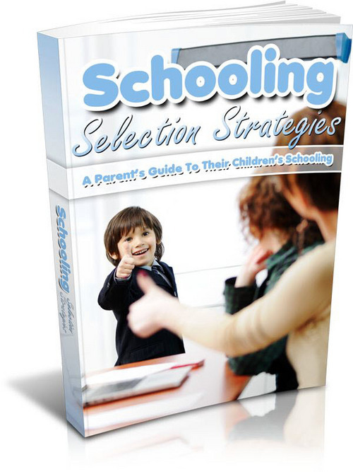 Product picture Schooling Selection Strategies - Ebook With Mrr