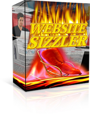 Product picture *NEW* Website Sizzler Software PLR - create content easy way