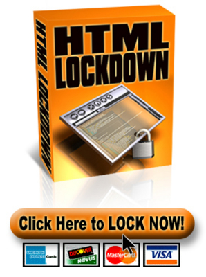 Product picture HTML Lockdown Software - MRR, PLR