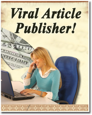 Product picture Viral Article Publisher - PLR, MRR