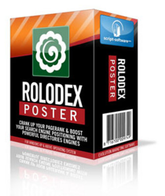 Product picture Rolodex Poster Software - MRR, PLR