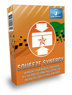 Product picture Squeeze Synergy Software - PLR, MRR