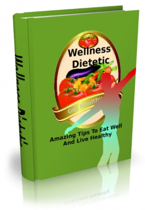 Product picture Wellness Dietetic with Master Resell Rights