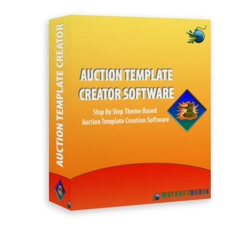 Product picture Auction Template Creator Software MRR
