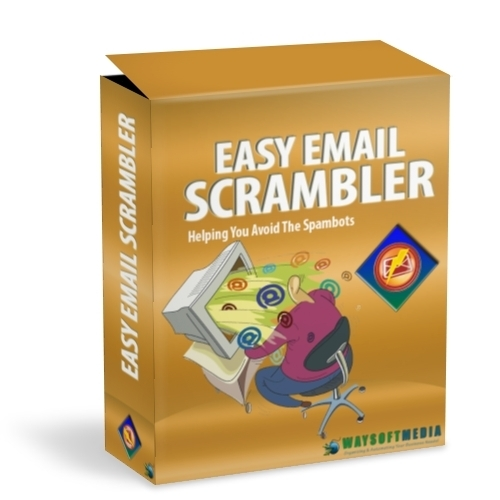 Product picture Easy Email Scrambler Software With MRR