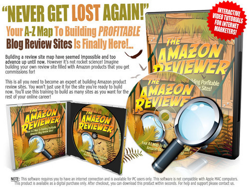 Product picture The Amazon Reviewer - Instruction Videos with MRR
