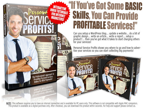 Product picture Personal Service Profits Video Course with MRR!