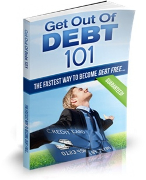 Product picture Get Out Of Debt 101 - PLR Audio/Ebook