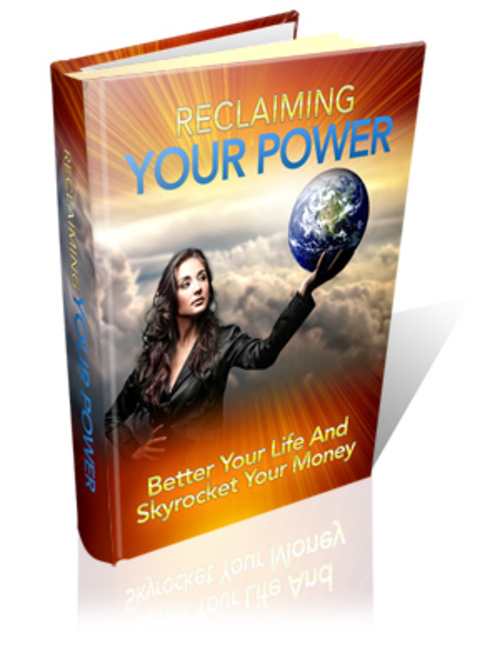 Product picture Reclaiming Your Power comes with MRR