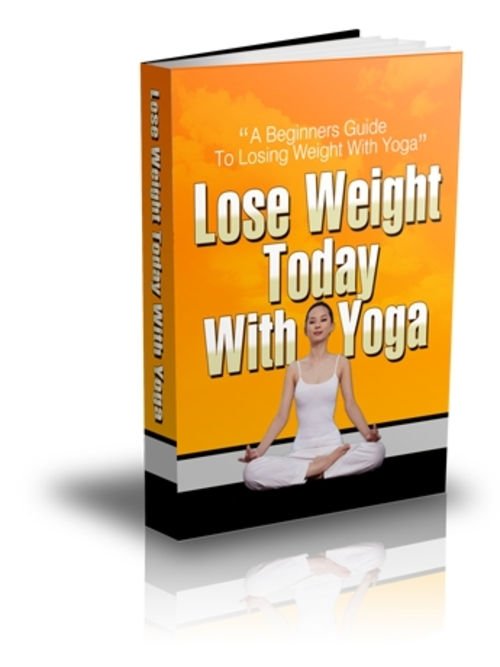 Product picture Lose Weight Today With Yoga - PLR Ebook