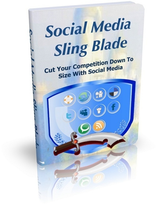 Product picture Social Media Sling Blade with MRR