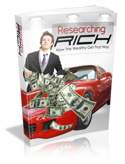 Product picture Researching Rich - Ebook comes with MRR
