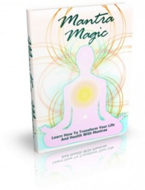 Product picture Mantra Magic - eBook with MRR