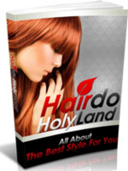 Product picture Hairdo Holy Land, MRR/Giveaway