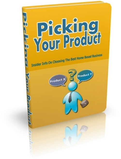 Product picture Picking Your Product with MRR